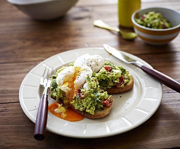 Mother's Day, Breakfast Recipes, Poached Eggs, Avocado, Feta Smash, Healthy Recipes