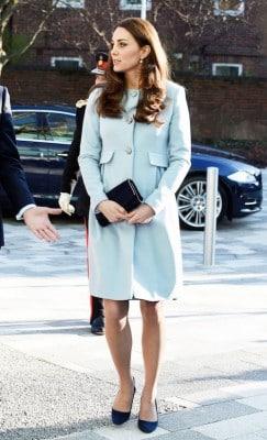 duchess kate blue coat
