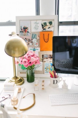 How To Style Your Workspace On A Budget