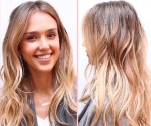 Hair, Jessica Alba Sun Kissed Locks, Hair Care