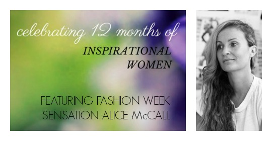 inspirational Women Alice McCall