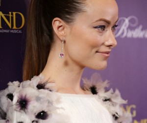 Recreate Olivia Wilde's Slicked Back Ponytail