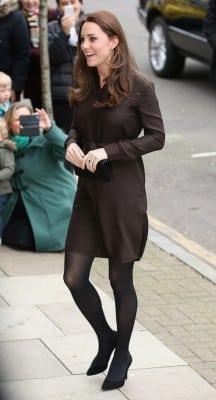 duchess kate brown dress