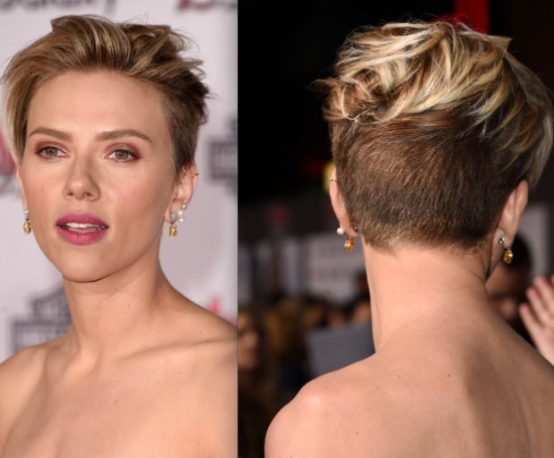 Get The Look: Scarlett Johansson's Layered Pixie Crop