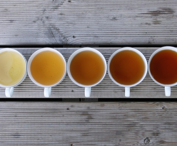 tea, green tea, chamomile, english breakfast, health benefits