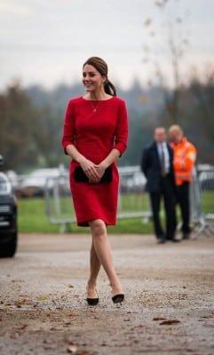 duchess kate red dress