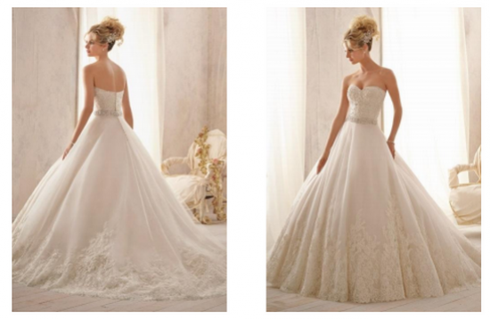 Does My Bouquet Look Big In This? Picking The Perfect Wedding Dress