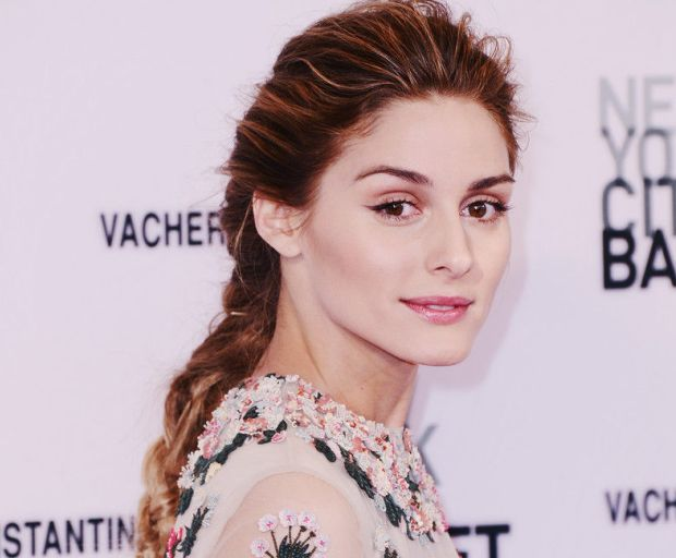Olivia Palermo's Braided Hair Tutorial