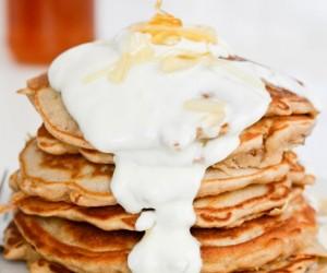 Pear and Honey, Pancakes, Breakfast, Breakfast Recipes