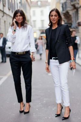 How To Style Cropped Trousers