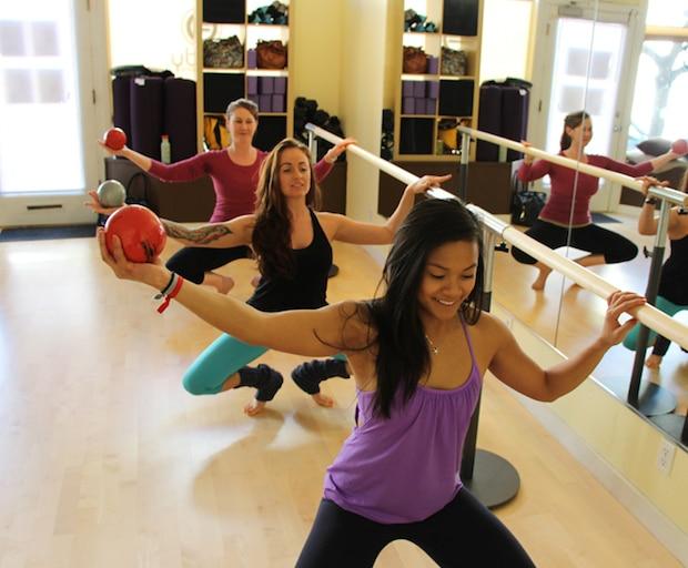 ballet, workout