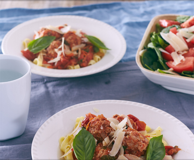 Zoey Bingley-Pullin, My Food Bag, Spaghetti And Meatballs, Fettucine, Spaghetti Recipe, Healthy Dinner Recipes