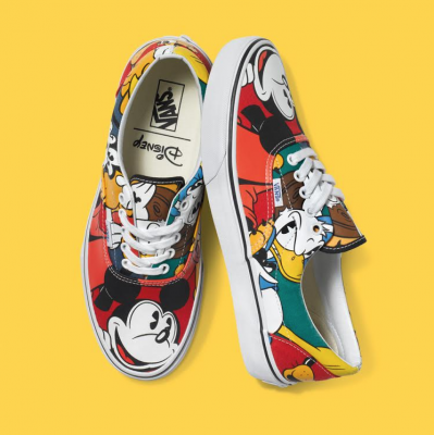 First Look: The Disney and Vans Shoes Collaboration