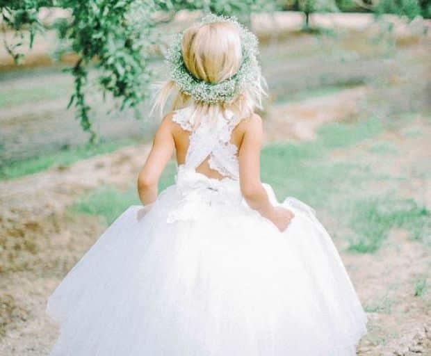 10 Cute Flower-Girl Dress Ideas