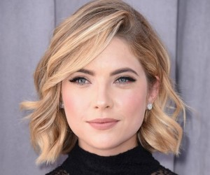 Get The Look, Ashley Benson, Side-Swept Curls, Lob, Curls