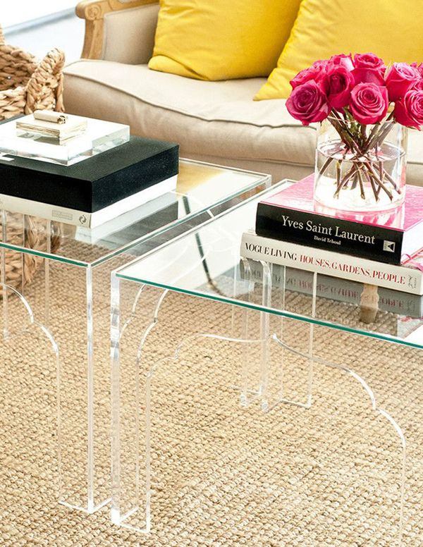 Interior Design Trend: Lucite Furniture