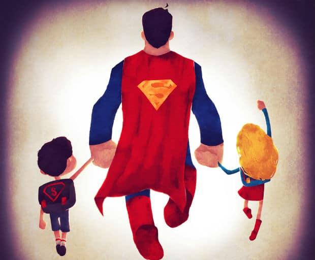 father's day, modern-day dads, fatherhood