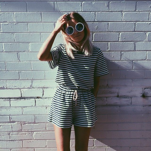 How To Style Graphic Playsuits