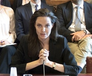 Angelina Jolie, ISIS, rape, sexual violence, violence against women, terrorism