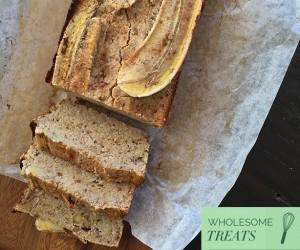 Wholesome Treats: Gluten And Refined Sugar-Free Banana Bread