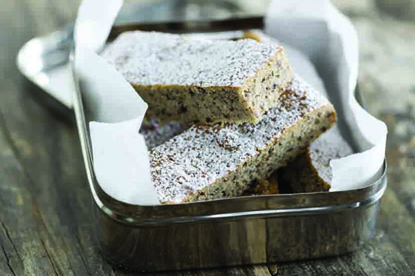 Chia And Banana Slice Recipe