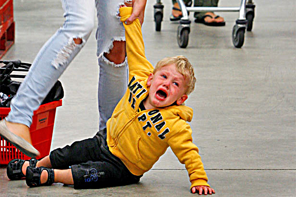 parenting, temper tantrums, tantrums, kids, timing
