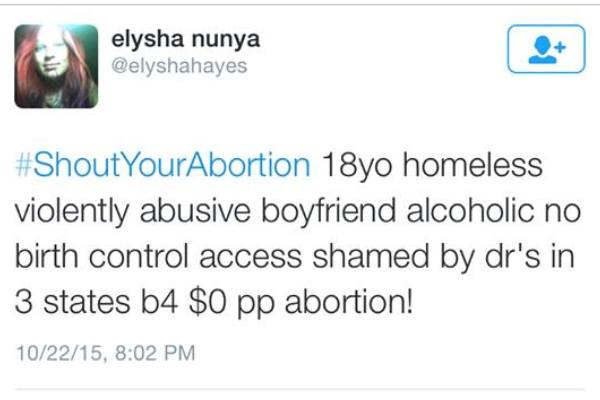 abortion, Twitter, social media, stigma, feminism, #ShoutYourAbortion