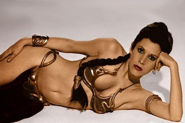 Star Wars' original Leia embodied feminine submisiveness.