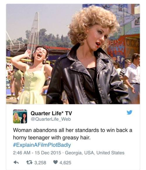 #ExplainAFilmPlotBadly, hashtags, Twitter, social media, fun, popular culture