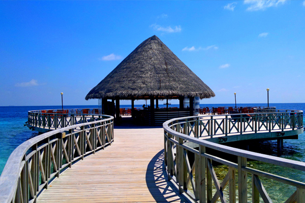 Bandos Island Resort; one of the hotels lastminute.com offers package deals for.