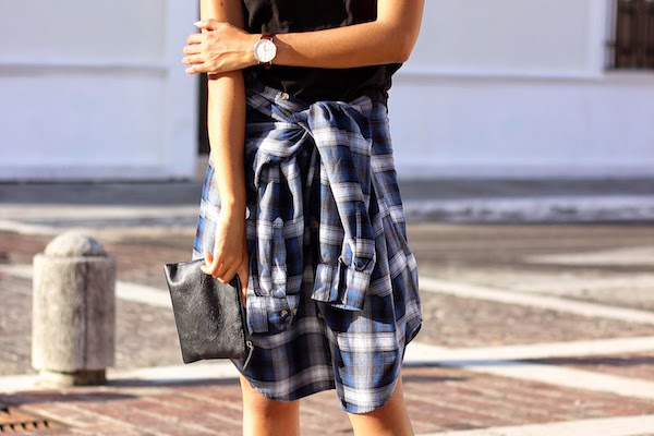 07-plaid-shirt-worn-as-skirt-fall-how-to-wear-brunette-braid-blogger-mexico-fashion-it-girl-genesis-serapio