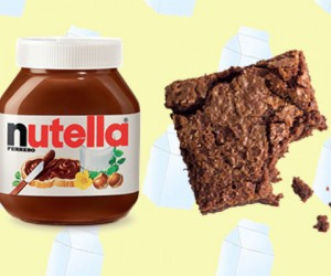 These Two-Ingredient Nutella Brownies Will Blow Your Mind