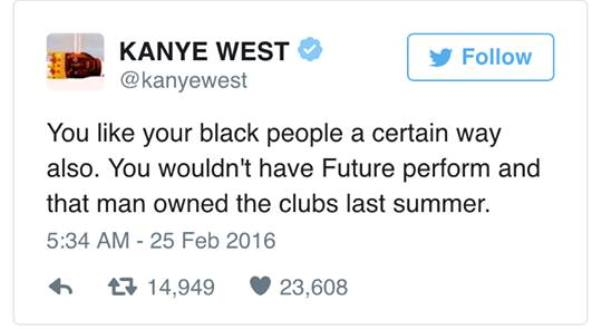 Kanye West, Grammys, Azealia Banks, racism, awards shows, Twitter