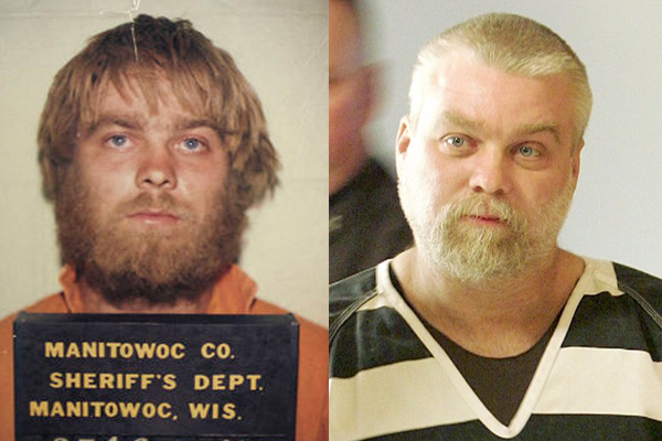 Then and now. Steven Avery has collectively spent 27 years in prison now.