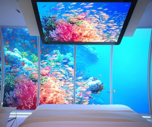 13 Underwater Hotels That'll Make You Feel Like A Mermaid