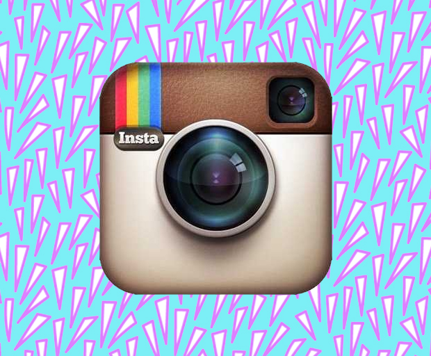 Instagram's new look logo.