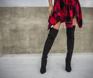 6 Non-Kinky Ways To Style Over-The-Knee Boots