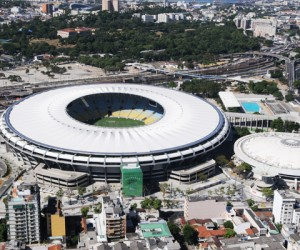 Explosion At Rio Stadium Ahead Of The Olympic Games