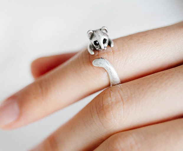 Image from: http://www.luulla.com/product/233093/vintage-cat-ring-jewelry-ring-metal-comfortable-ring-bridesmaids-gift-cat-ring-wrap-ring-cat-jewelr