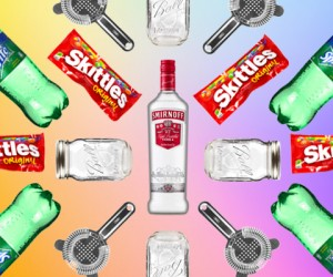 Here's How To Make An Alcoholic Slushie Using Skittles Candy