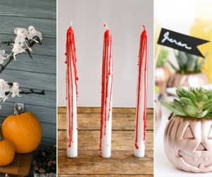 17 DIY Halloween Decorations For Throwing The Most Stylish Bash Ever