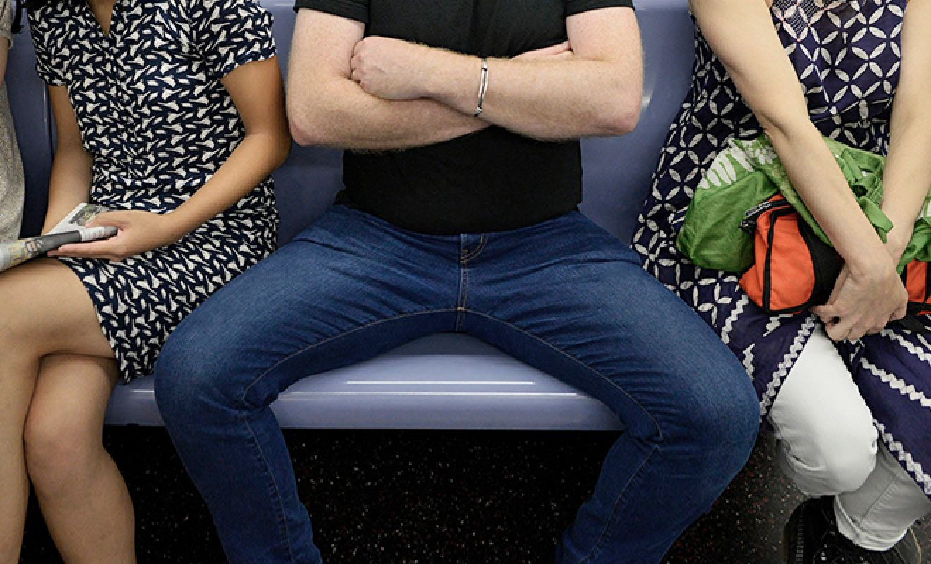 Manspreading Is Male Privilege At Its Finest