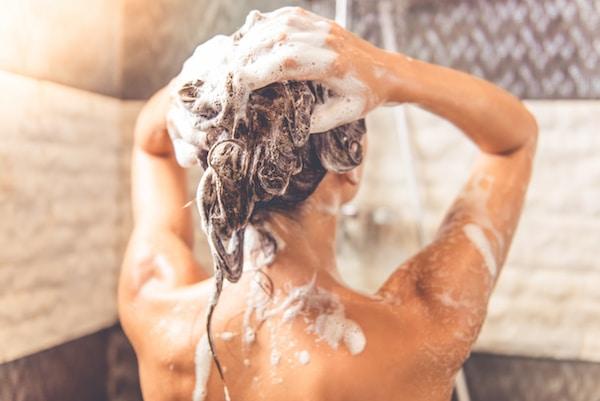 back acne shampoo