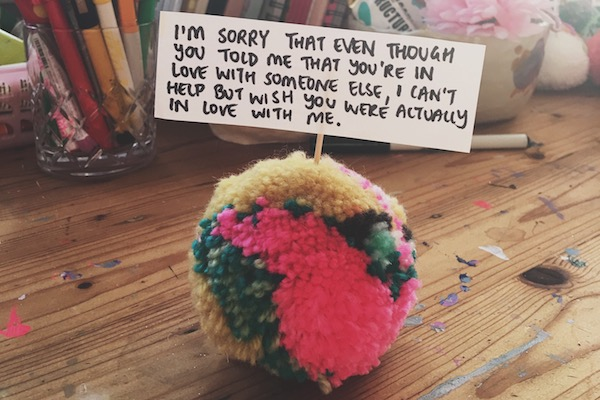 Apomogy Unrequited Love Pom Pom Rachel Burke