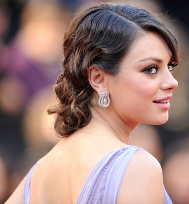 Get the look mila kunis 1920s updo in 5 easy steps shesaid get the look mila kunis 1920s updo in 5 easy steps pmusecretfo Image collections