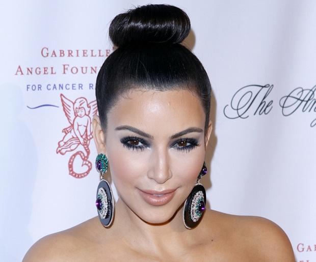 Get The Look Kim Kardashian S Ballerina Bun Hairstyle She Said