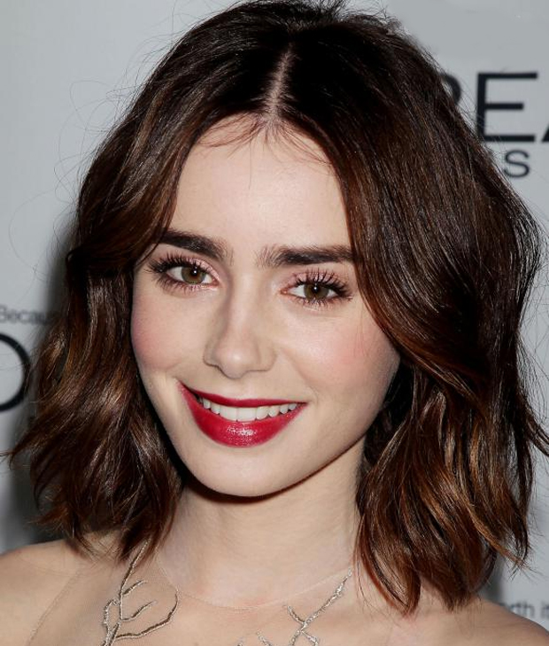 Get the Look: Lily Collins' Glam Makeup - SHE'SAID'