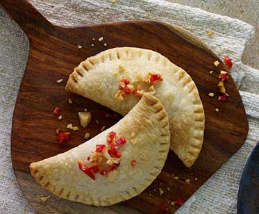 Prawn Queso Fresco Empanada Recipe
