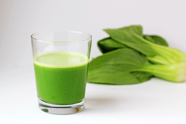 Green Wake-Up Juice Recipe