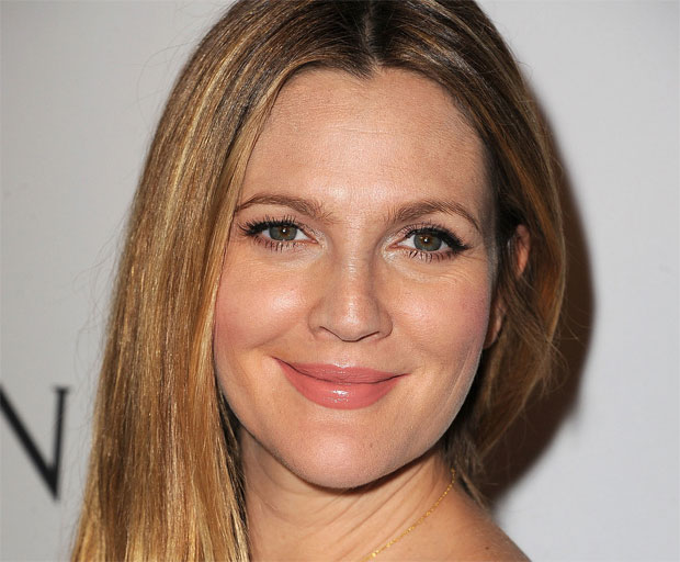 wedding, makeup, beauty, Drew Barrymore, celebrity style